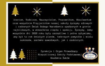 Kartka Życzenia świąteczne