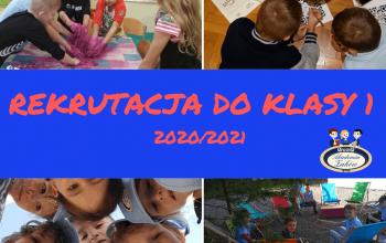 REKRUTACJA DO KLASY 1 2020_2021